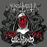 Nunslaughter / Witchtrap: split
