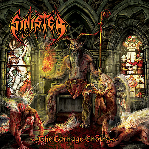 Sinister: The Carnage Ending album cover